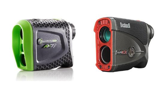 Precision NX7 Pro vs Bushnell Pro X2