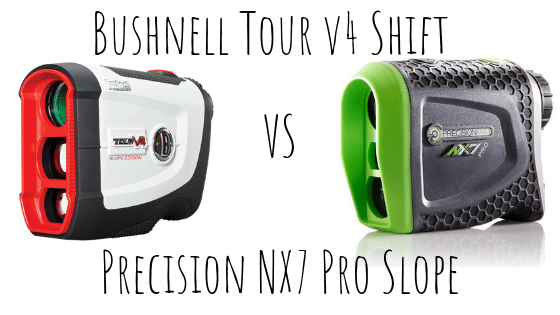 Bushnell Tour V4 Shift vs Precision Pro NX7 Slope