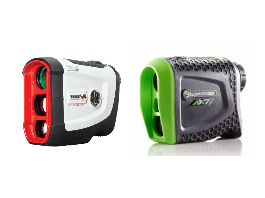 Bushnell Tour V4 Shift vs Precision NX7 Pro Slope